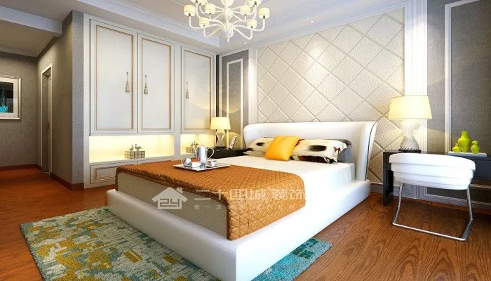 欧式 奢华 豪华 别墅 收纳 旧房改造 80后 高富帅 白富美 卧室图片来自二十四城装饰(集团)昆明公司在东盟森林 奢华欧式的分享