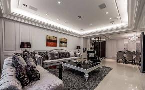 欧式 奢华 80后 欧式奢华 豪华 三居 白领 高富帅 白富美 客厅图片来自二十四城装饰(集团)昆明公司在万秀城 欧式奢华的分享