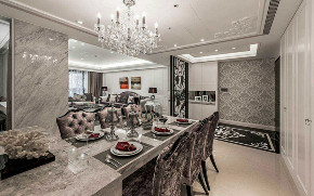 欧式 奢华 80后 欧式奢华 豪华 三居 白领 高富帅 白富美 餐厅图片来自二十四城装饰(集团)昆明公司在万秀城 欧式奢华的分享