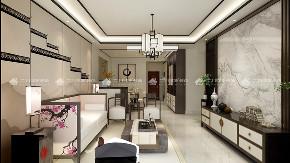 中式 中式古韵 新中式 混搭 三居 白领 收纳 旧房改造 80后 客厅图片来自二十四城装饰(集团)昆明公司在金泰国际 新中式的分享