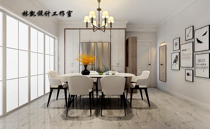 餐厅图片来自沈阳百家装饰小姜在百家装饰医科大学家属楼120平的分享