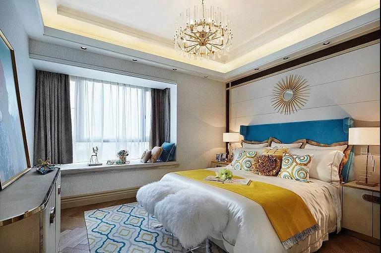欧式 三居 客厅 卧室 厨房 餐厅图片来自乐粉_20180907171047992在安美房室内装修的分享