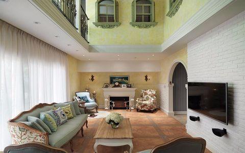 简约 欧式 三居 客厅 卧室 厨房图片来自乐粉_20180907171047992在安美房-乡村风格200平米复式的分享