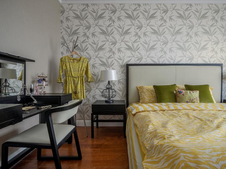 欧式 简约 三居 80后 卧室图片来自百典装饰在恒基旭辉城的分享