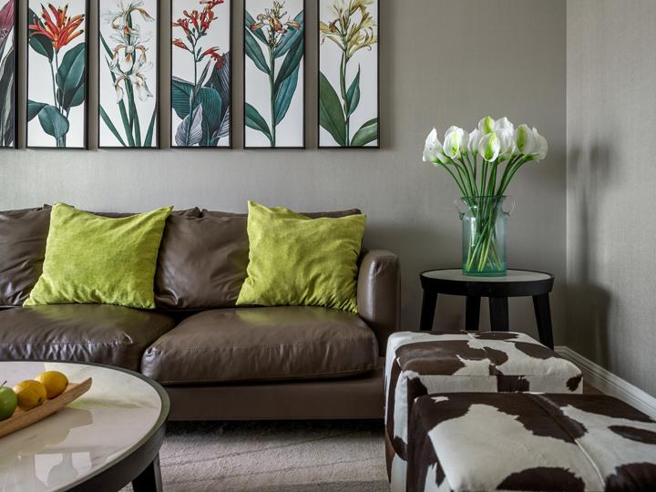 欧式 简约 三居 80后 客厅图片来自百典装饰在恒基旭辉城的分享