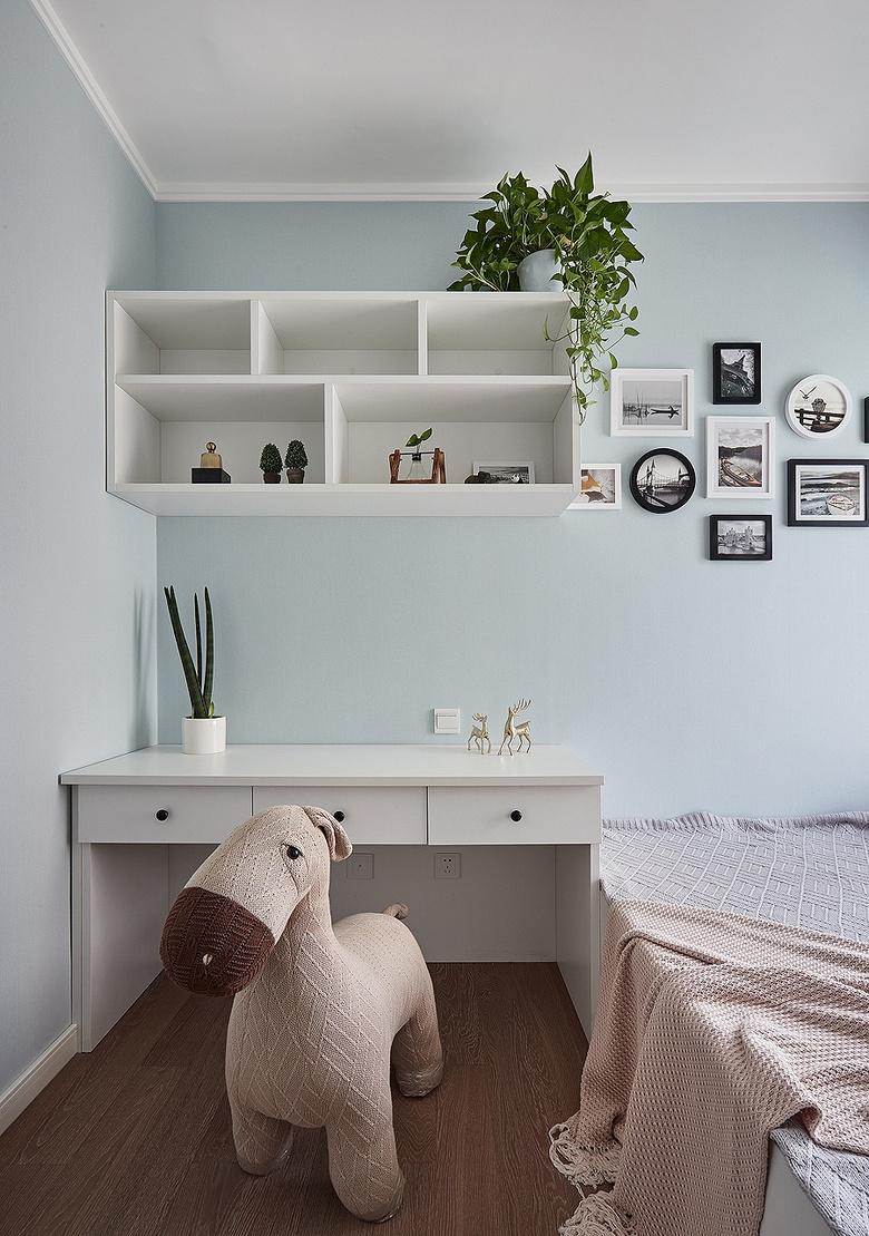 儿童房图片来自家装大管家在舒适生活 115平现代混搭时尚3居的分享