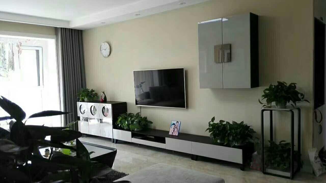 简约 二居 客厅图片来自山西紫苹果装饰公司在常青藤的分享