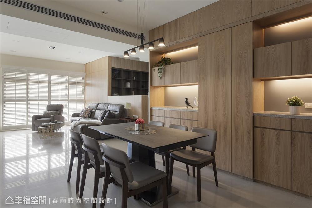 装修设计 装修完成 休闲风格 小资 餐厅图片来自幸福空间在99平, 高CP值混搭机能宅的分享
