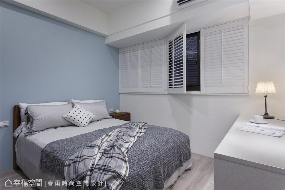 装修设计 装修完成 休闲风格 小资 卧室图片来自幸福空间在99平, 高CP值混搭机能宅的分享