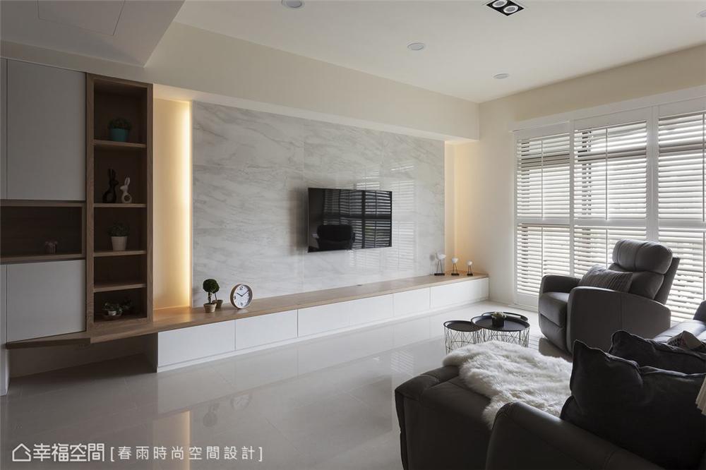装修设计 装修完成 休闲风格 小资 客厅图片来自幸福空间在99平, 高CP值混搭机能宅的分享