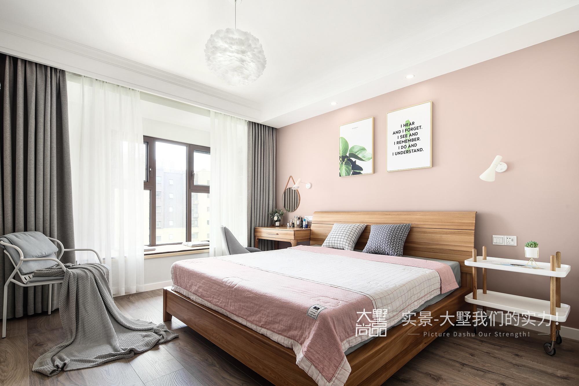 卧室图片来自大墅尚品-由伟壮设计在傲娇女王大人打造125㎡北欧王国的分享