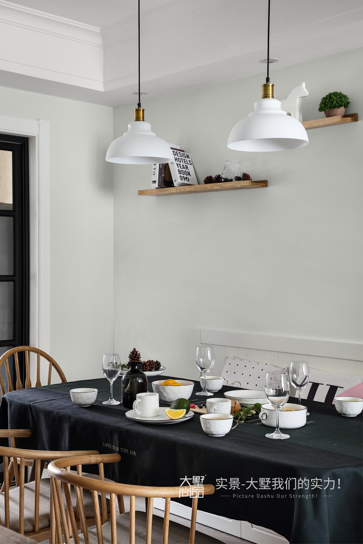 餐厅图片来自大墅尚品-由伟壮设计在傲娇女王大人打造125㎡北欧王国的分享