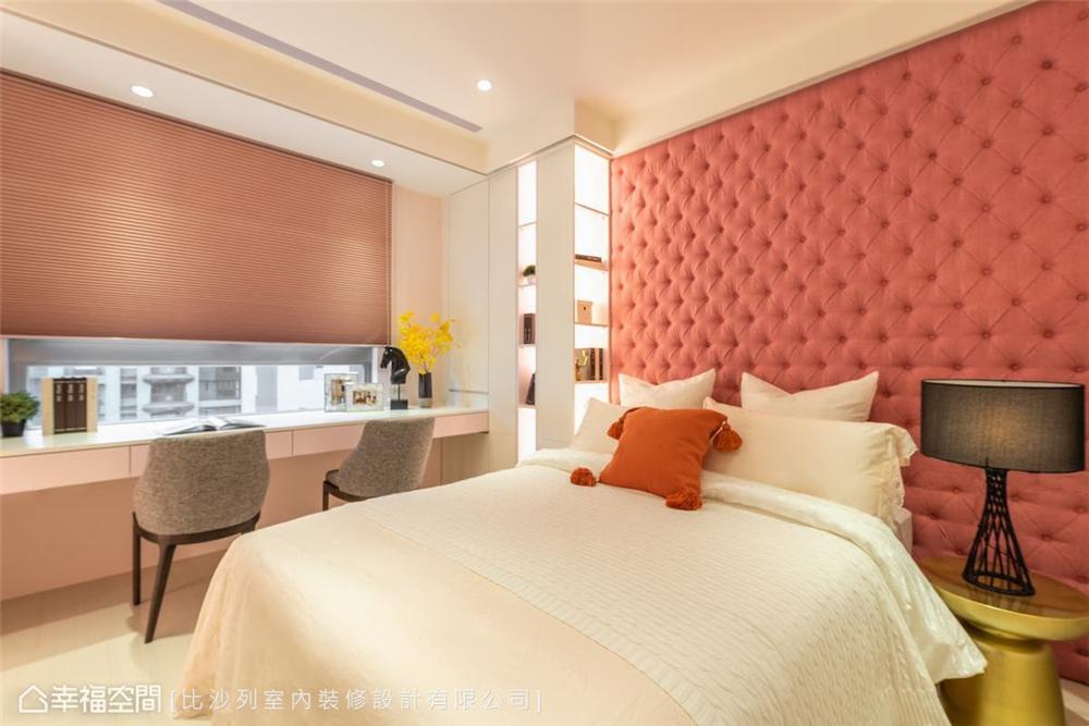 装修设计 装修完成 现代风格 卧室图片来自幸福空间在142平,减压大梁,再引茶镜借景的分享
