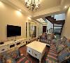 大面积的白色墙面或墙面装饰板,简化的白色欧式古典线条。造型轻盈精巧的欧式家具。