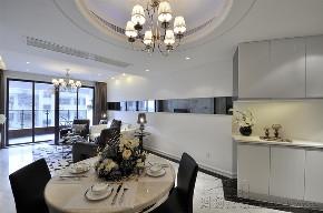 欧式 田园 三居 白领 收纳 80后 餐厅图片来自鸿扬家装武汉分公司在欧式田园121平-鸿扬家装的分享