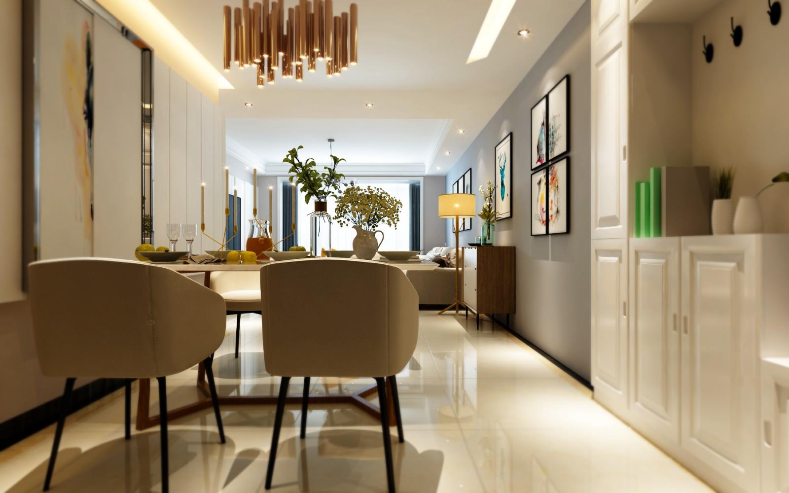 简约 混搭 二居 三居 客厅 卧室 厨房 别墅 餐厅图片来自合肥今朝宜居装饰  小权权在装修设计风格的分享