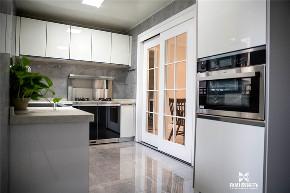 现代 新思路装饰 三居 白领 厨房设计 厨房图片来自重庆新思路装饰在万科金域学府(现代简约)的分享