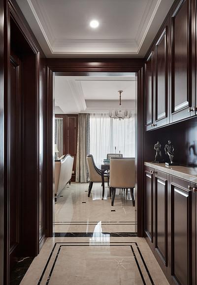 玄关图片来自家装大管家在128平新古典雅致3居 私享舒适家的分享