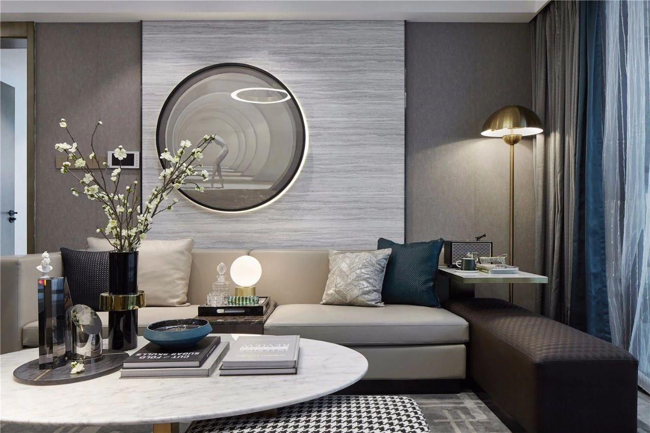 现代 基装 全包 鹏友百年 私人订制 全案设计 客厅图片来自鹏友百年装饰在自带优雅静谧的气质的分享