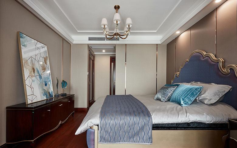 卧室图片来自家装大管家在128平新古典雅致3居 私享舒适家的分享