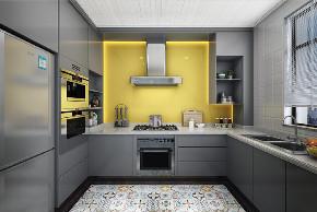 三居 欧式 厨房图片来自云南俊雅装饰工程有限公司在宝象康园的分享