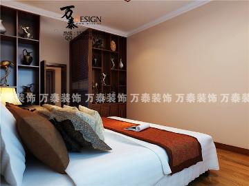 四室两厅两卫新中式风格装修案例