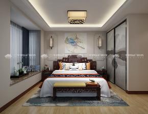 中式 古典 中式古韵 古香 传统 收纳 旧房改造 80后 混搭 卧室图片来自二十四城装饰(集团)昆明公司在都铎城邦  中式的分享