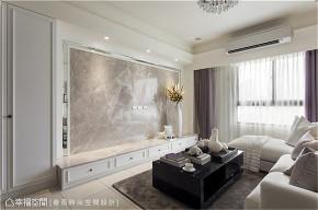 装修设计 装修完成 新古典 小资 客厅图片来自幸福空间在76平,轻奢唯美 浪漫古典之境的分享