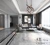 营造出一个时尚简约大方的空间,整体以沉稳低调的风格特性,彰显出一种轻奢的美感。