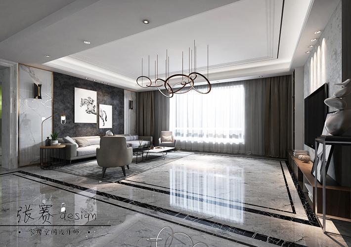 别墅 80后 小资 白领 客厅图片来自辽宁百家装饰在别墅装修的分享