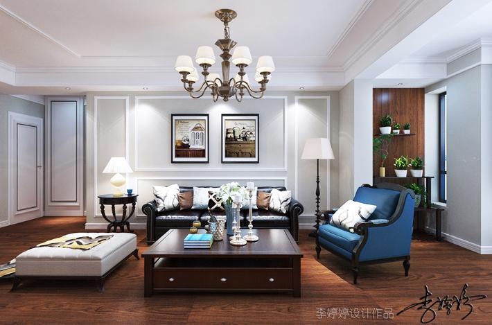 80后 小资 三居 客厅图片来自辽宁百家装饰在保利心语花园的分享