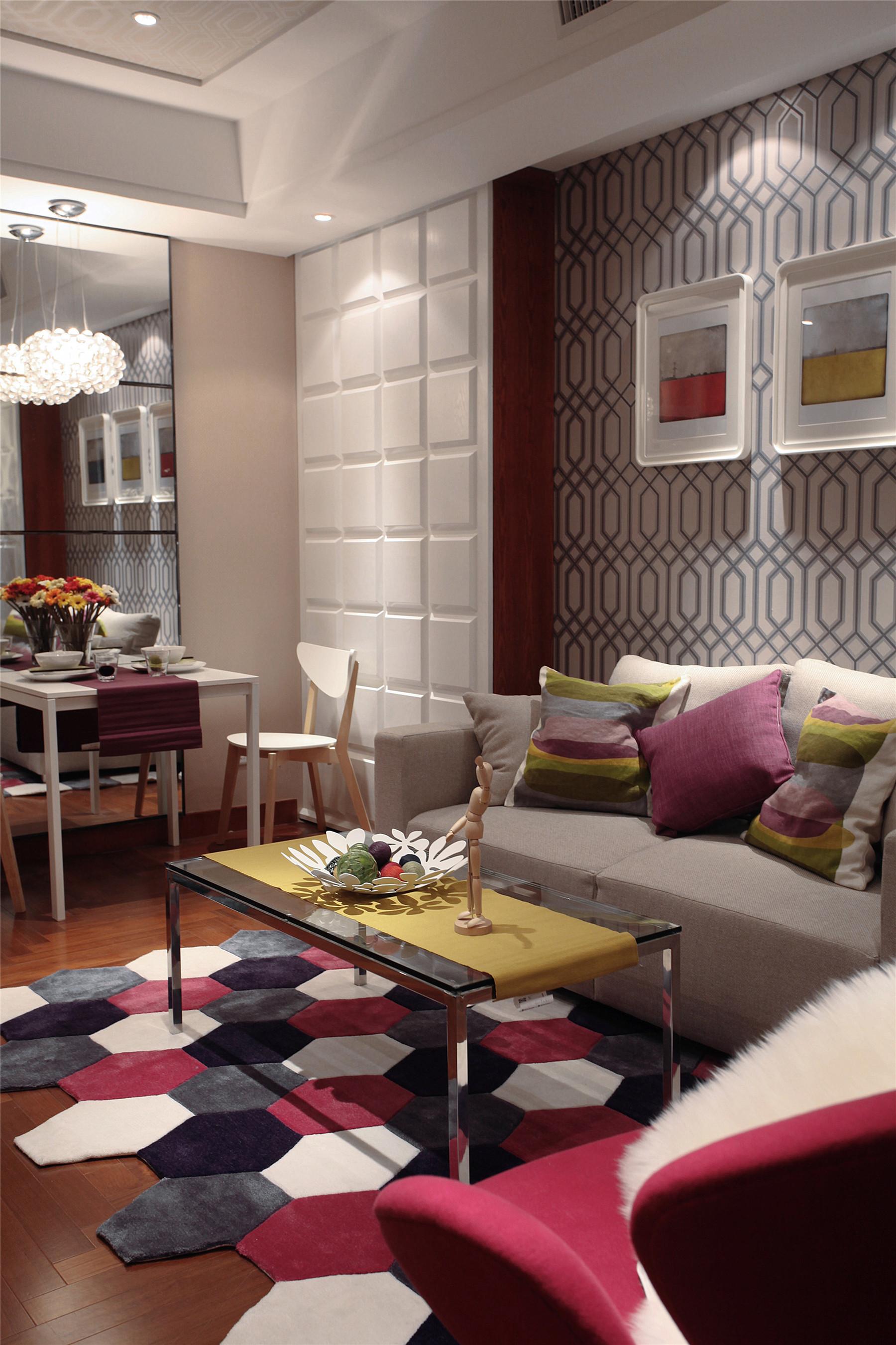 旧房改造 小资 客厅图片来自北京今朝装饰在6万轻工打造完美的家的分享