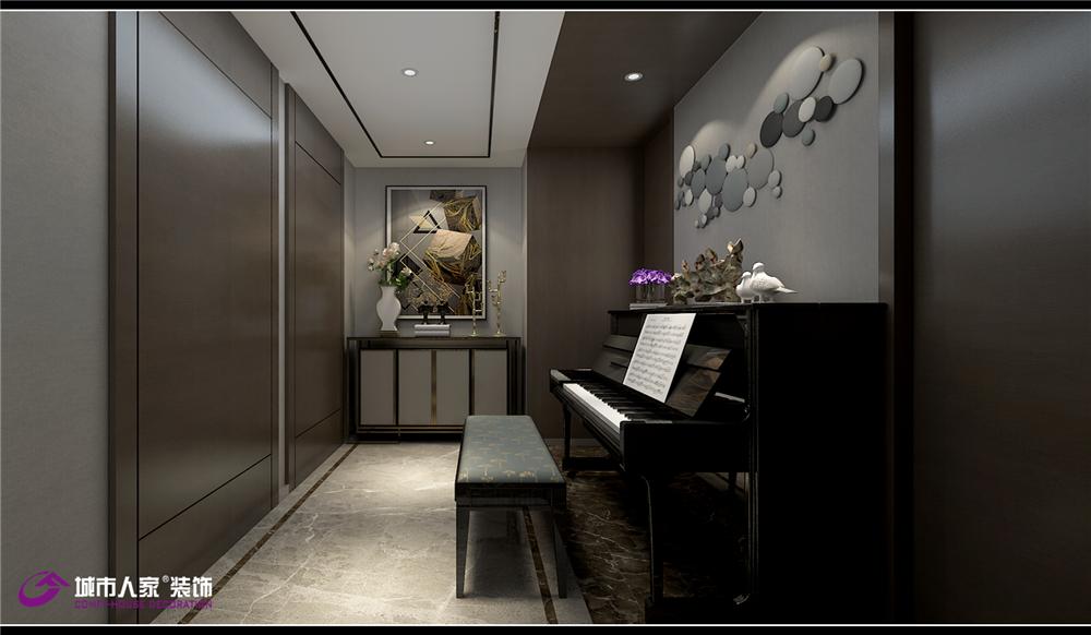 简约 其他图片来自济南城市人家装修公司-在财富壹号装修轻奢风格设计效果图的分享