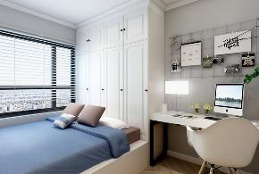 三居 北欧 新加坡城 书房图片来自装修顾问老王在平价装修-沈阳114北欧风格装修的分享