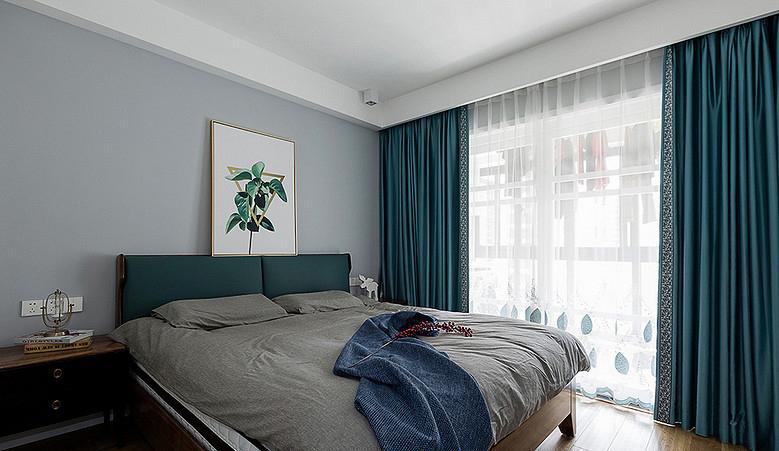 卧室图片来自家装大管家在110平北欧简约3居 心的温暖港湾的分享