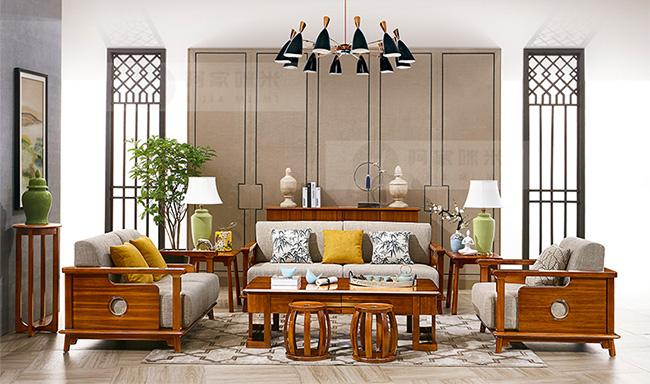 新中式 实木家具 金丝檀木图片来自浙江阿家咪米在阿家咪米新中式实木家具美图赏析的分享