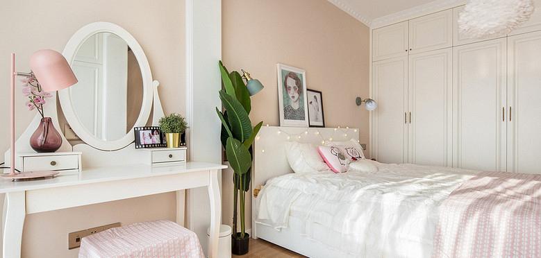 卧室图片来自家装大管家在120平美式明亮居 小家温馨惹人爱的分享