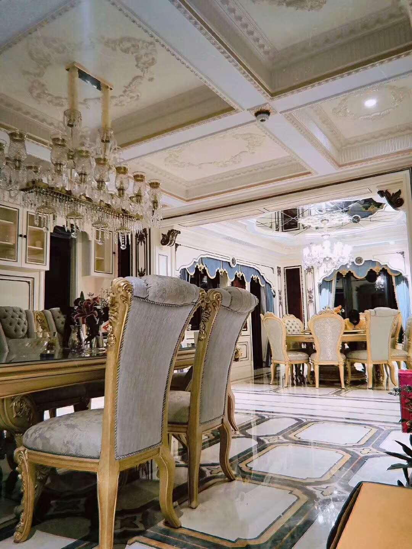 四季雅苑 别墅装修 法式风格 别墅设计师 餐厅图片来自腾龙设计在法式风格别墅设计案例展示的分享