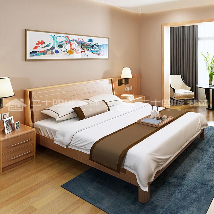 简约 北欧 混搭 白领 收纳 旧房改造 小资 温馨 舒适 卧室图片来自二十四城装饰(集团)昆明公司在盛唐城 北欧的分享
