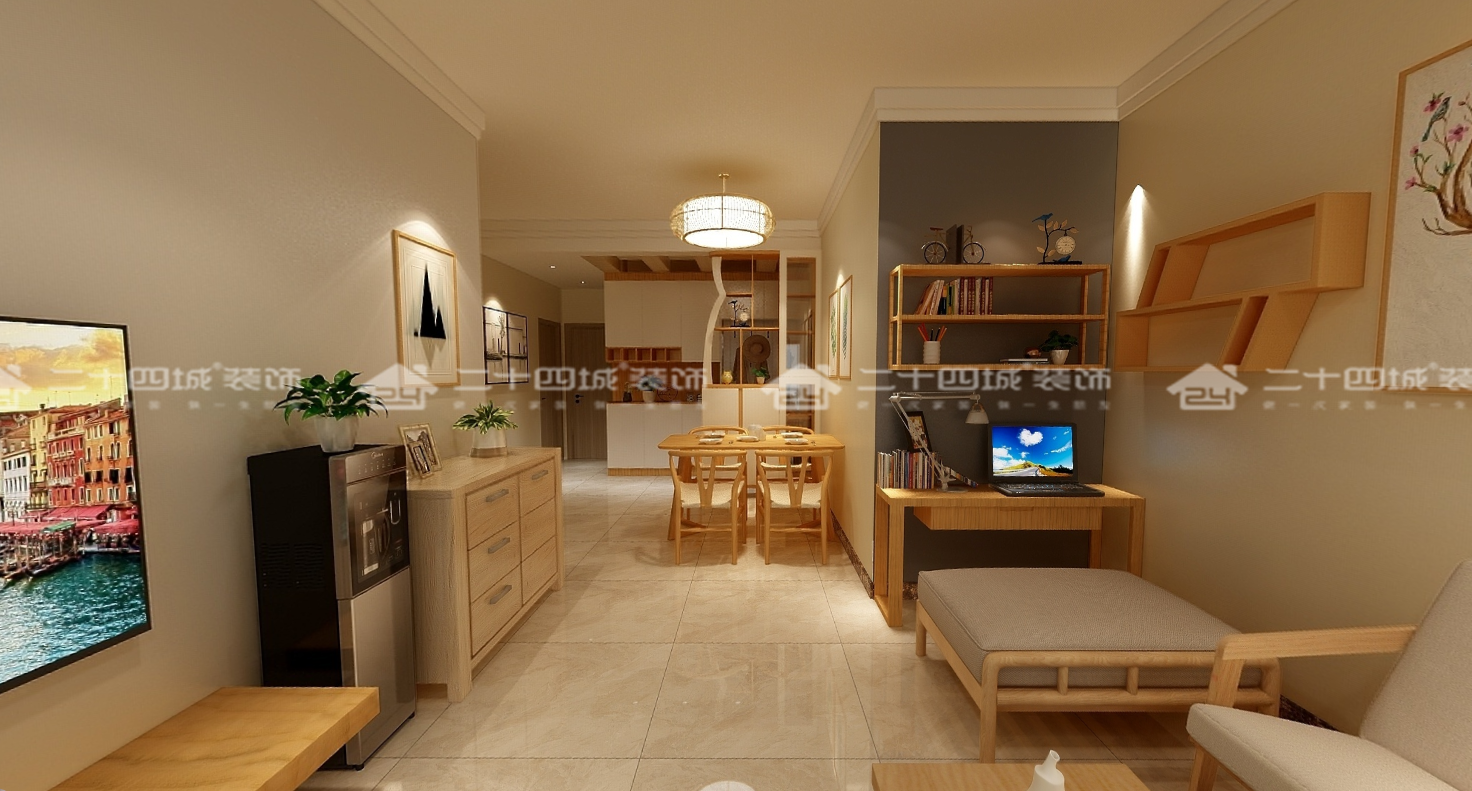 简约 北欧 混搭 白领 收纳 旧房改造 小资 温馨 舒适 餐厅图片来自二十四城装饰(集团)昆明公司在盛唐城 北欧的分享