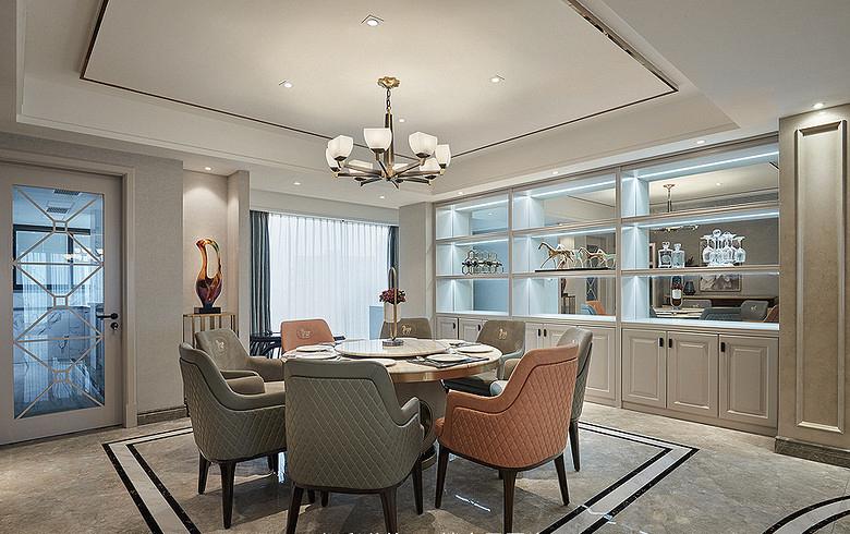 厨房图片来自家装大管家在都市新贵 190平轻奢后现代4居室的分享