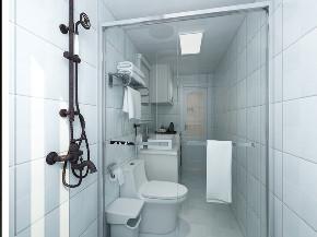 欧式 混搭 二居 旧房改造 80后 卫生间图片来自徐春龙设计师在美式咖啡的分享