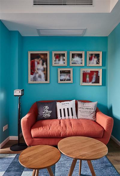 书房图片来自家装大管家在106平时尚北欧3居室 大写的实用的分享