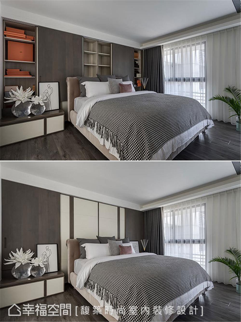 装修设计 装修完成 现代风格 卧室图片来自幸福空间在264平,木石疗愈 温馨度假宅邸的分享