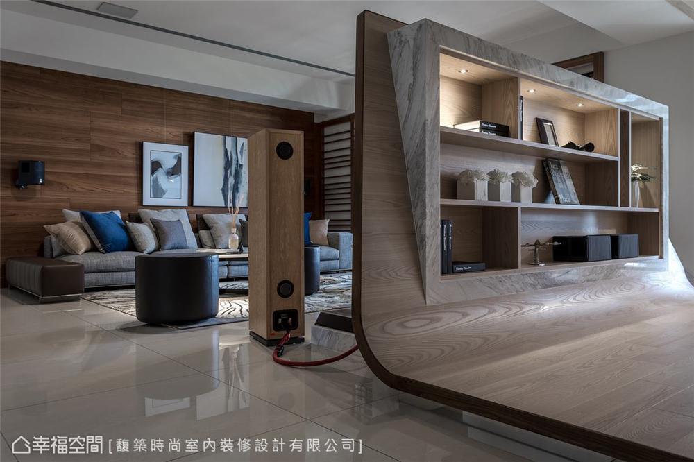 装修设计 装修完成 现代风格 客厅图片来自幸福空间在264平,木石疗愈 温馨度假宅邸的分享