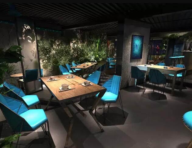 餐饮店面 简约 田园 餐厅 80后 小资图片来自乐粉_20181108093507785在店面(装修)设计的分享