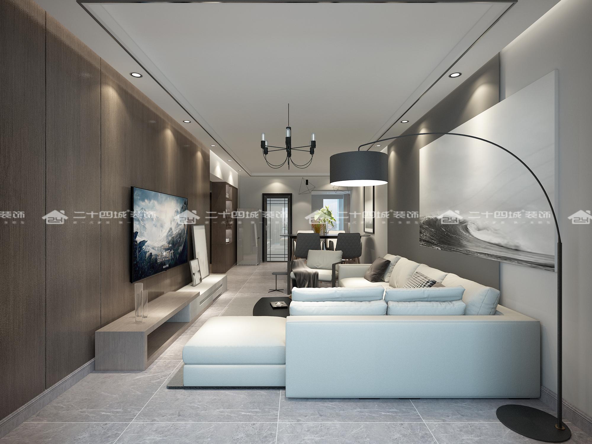 简约 混搭 现代简约 旧房改造 白领 收纳 小资 温馨 舒适 客厅图片来自二十四城装饰(集团)昆明公司在盛唐城  现代 简约的分享