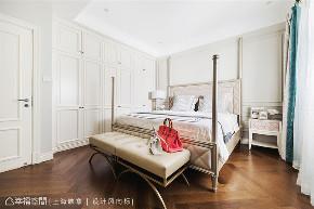 上海映象 幸福空间 美式 别墅 小资 装修设计 上海装修 星啊 陈子欣 卧室图片来自幸福空间在450㎡贇淡風清 中西并蓄淡雅风韵的分享