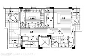 上海映象 幸福空间 美式 别墅 小资 装修设计 上海装修 星啊 陈子欣 户型图图片来自幸福空间在450㎡贇淡風清 中西并蓄淡雅风韵的分享