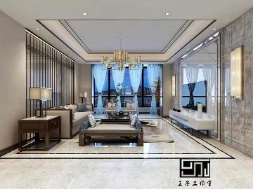 碧桂园名门200平别墅港式风格